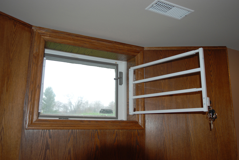 hinged removable bar hinged basement window bar 1